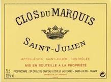 Château Léoville Las Cases Clos du Marquis label