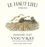 Domaine Huet Le Haut-Lieu Demi-Sec label