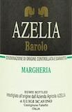 Azelia Barolo Margheria label