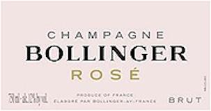Bollinger Rosé label