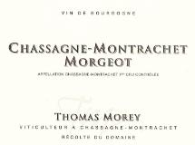 Domaine Thomas Morey Chassagne-Montrachet Premier Cru Morgeot label