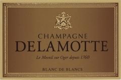 Delamotte Blanc de Blancs Millésimé Grand Cru label