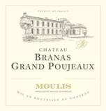 Château Branas Grand Poujeaux  label