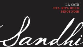 Sandhi La Côte Pinot Noir label