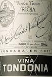 Bodegas López de Heredia Rioja  Gran Reserva label