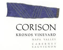 Corison Kronos Vineyard Cabernet Sauvignon label