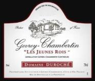 Domaine Duroché Gevrey-Chambertin Les Jeunes Rois label