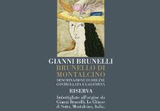 Gianni Brunelli (Le Chiuse di Sotto) Brunello di Montalcino  Riserva label