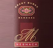 Grant Burge Meshach Shiraz label