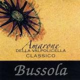 Tommaso Bussola Amarone della Valpolicella Classico  label