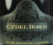 Ca' del Bosco Cuvée Annamaria Clementi label