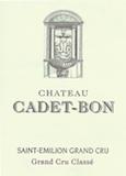 Château Cadet-Bon  Grand Cru Classé label