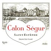 Château Calon Ségur  Troisième Cru label