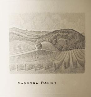 Abreu Madrona Ranch Cabernet Sauvignon label
