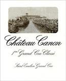 Château Canon  Premier Grand Cru Classé B label