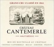 Château Cantemerle  Cinquième Cru label