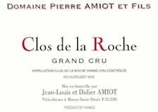 Domaine Pierre Amiot Clos de la Roche Grand Cru  label