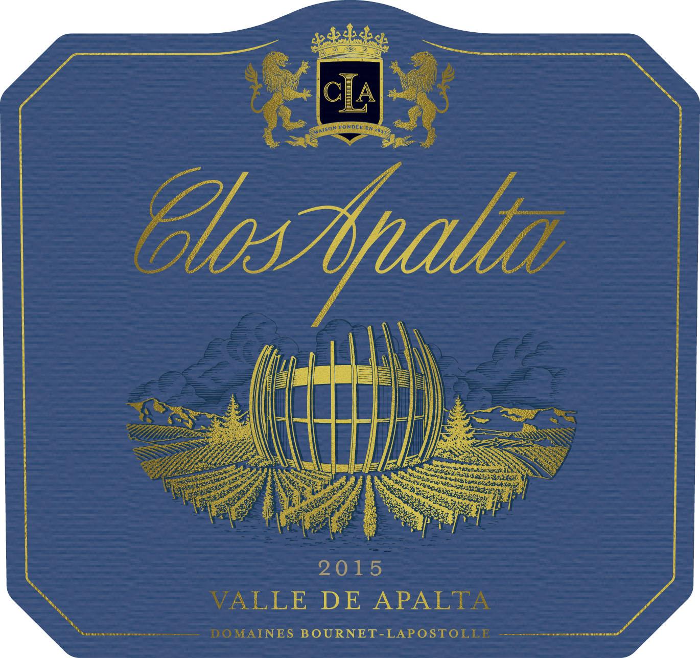 Casa Lapostolle Clos Apalta label