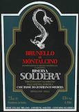 Soldera Case Basse  Sangiovese label