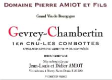 Domaine Pierre Amiot Gevrey-Chambertin Premier Cru Aux Combottes label