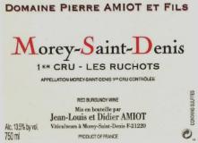 Domaine Pierre Amiot Morey-Saint-Denis Premier Cru Les Ruchots label
