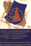 Castello di Querceto Sole Alessandro label