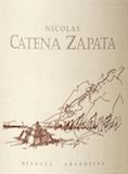 Bodega Catena Zapata Nicolás Catena Zapata label