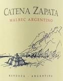 Bodega Catena Zapata Malbec Argentino label