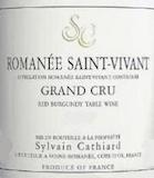Sylvain Cathiard Romanée-Saint-Vivant Grand Cru  label