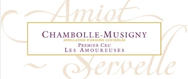 Domaine Amiot-Servelle Chambolle-Musigny Premier Cru Les Amoureuses label