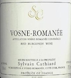 Sylvain Cathiard Vosne-Romanée  label