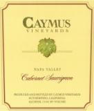 Caymus Vineyards Cabernet Sauvignon label