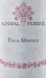 Achaval Ferrer Finca Altamira label