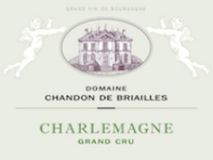 Domaine Chandon de Briailles Corton-Charlemagne Grand Cru  label