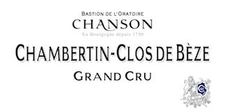 Chanson Père et Fils Chambertin Clos de Bèze Grand Cru  label