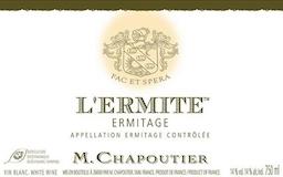 M. Chapoutier Hermitage Ermitage Blanc L'Ermite label