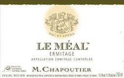M. Chapoutier Hermitage Ermitage Le Méal Blanc label