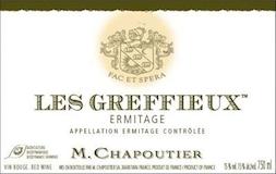M. Chapoutier Hermitage Ermitage Les Greffieux label