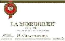 M. Chapoutier Côte Rôtie La Mordorée label