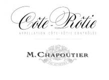 M. Chapoutier Côte Rôtie  label