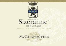 M. Chapoutier Hermitage Monier de la Sizeranne label