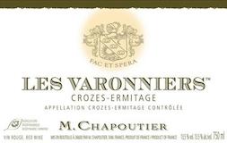 M. Chapoutier Crozes-Hermitage Les Varonniers label
