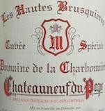 Domaine de la Charbonnière Châteauneuf-du-Pape Cuvée Spéciale Les Hautes Brusquières label