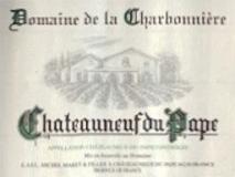 Domaine de la Charbonnière Châteauneuf-du-Pape Blanc label