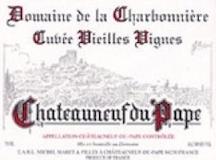 Domaine de la Charbonnière Châteauneuf-du-Pape Vieilles Vignes label