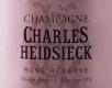 Charles Heidsieck Rosé Reserve - label