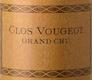 Domaine Charlopin-Parizot Clos de Vougeot Grand Cru  - label