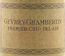 Domaine Charlopin-Parizot Gevrey-Chambertin Premier Cru Bel Air - label