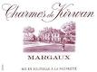 Château Kirwan Charmes de Kirwan - label