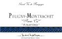 Domaine Jean Chartron Puligny-Montrachet Premier Cru Les Folatières - label